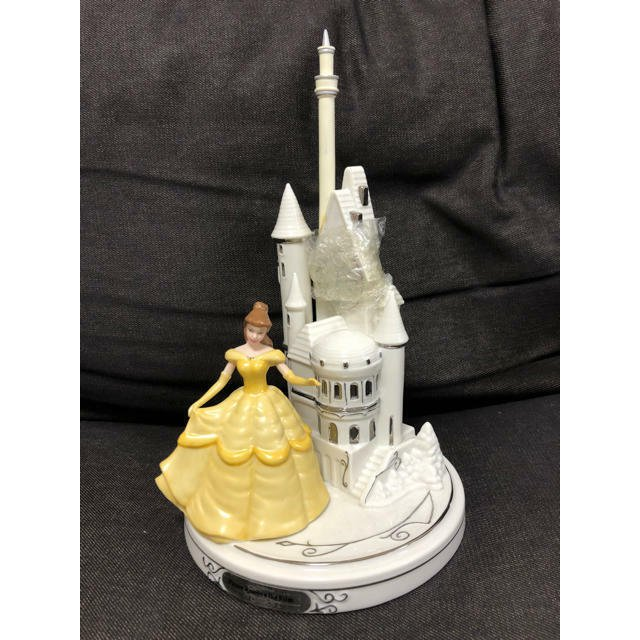 Bradford Exchange Beauty And the Beast Bell Magical Enchantment Musical Clock fi