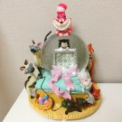 Disney Aristo Cats Marie Kiss me Cat Music Box Snow Globe DomeFigure Cheshire
