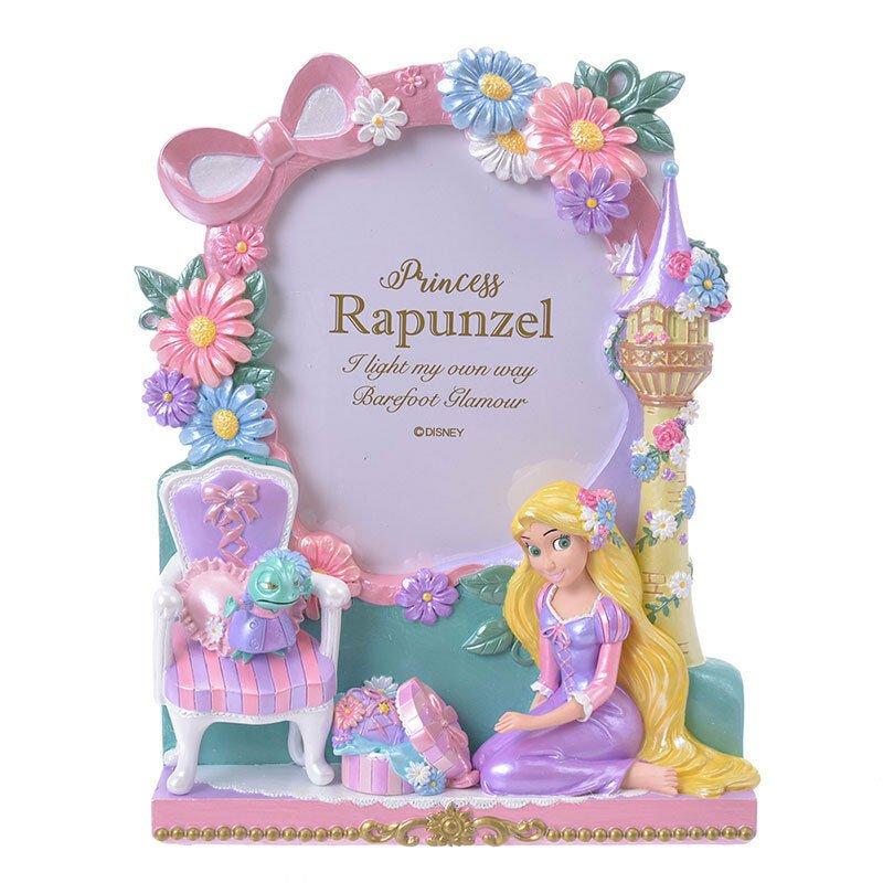 Disney Store Japan 2019 Photo Frame Rapunzel Princess Party Figure 3D Photo Stan