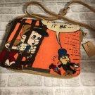Disney Pinocchio 2WAY Shoulder bag Sagara embroidery pouch handcase Pochette