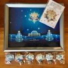 Tokyo Disney Land 2008 Ambassador Hotel Pinbatch complete set with Christmas