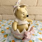 Lenox Winnie the Pooh Happy Easter Figure Ornament Doll Pottery ornaments