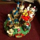 Tokyo Disney Land 2007 Christmas fantasy Mickey Cinderella Castle 3D figure