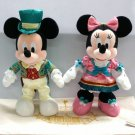 Tokyo Disney Land 2018 Ambassador Hotel Mickey & Minnie Plush Doll set Exclusive