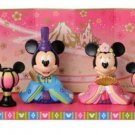 Tokyo Disney Resort Mickey & Minnie Princess Ornament HINA Doll Princess Figures