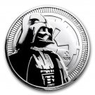 Disney Darth Vader Sterling silver coin Zodiac 1 oz 1008 New Zealand medal