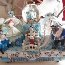 Princess Fairy Tales light up Snow globe Music box Cinderella figure Ariel Bell
