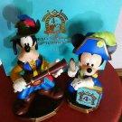 Tokyo Disney Resort  2005 the 4th anniversary Mickey Mouse & Goofy Figure Doll
