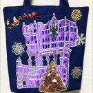 Tokyo Disney sea Tower of Terror Christmas ver Tote bags school bag hand made