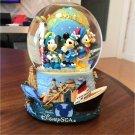 2001 Tokyo Disney Sea Grand Opening Snowglobe Figure Dome Mickey Minnie TDR