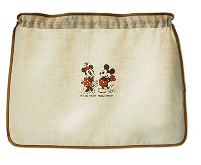 Disney BONFOR Mickey & Minnie MM Natural Side Curtain for Car Drive Ivory