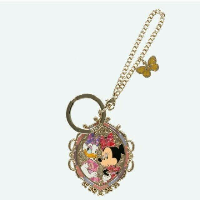 Tokyo Disney Resort ANNASUI Minnie Mouse & Daisy Bag Charm Key TDL