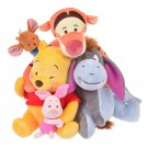 Disney Store Japan Plush Doll Winnie the Pooh & Friends, Hug & Smile Eeyore Doll