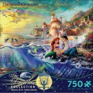 Disney Little Mermaid Ariel Princess Jigsaw Puzzle Thomas Kinkade 750piece