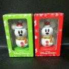 Disney Resort Snow Snow Christmas Snowman Mickey Minnie Original Snowman Stamp