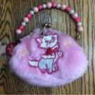 Tokyo Disney Resort Aristocat Marie Wallet Gamaguchi Pouch Coin purse  pink TDL