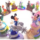 Disney Coca-Cola Dreams On Parade Moving on figure Miniature Float doll Mickey