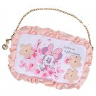 Disney Store JAPAN  Minnie Mouse Cherry Blossom Mobile Pouch Smartphone Case Bag