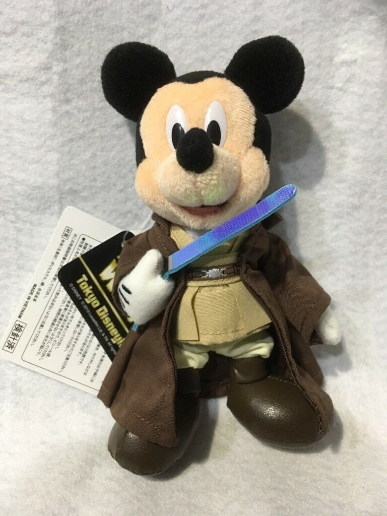 Tokyo Dinsye Land Mickey Mouse Star Wars Costume Plush Doll Figure batch