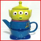 Disney Alien Tea For One Cup & Teapot Set with Tea Little Green Men Toy story