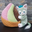 Tokyo Disney sea colorful gelato Cushion with Geratoni Plush Doll