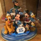 Tokyo Disney Sea 15th anniversary Figurine Mickey Minnie Pluto Donald Daisy