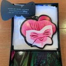 Disney Marc by Marc Jacobs Alice in Wonderland Coin Case pink Pansy Purse Japan