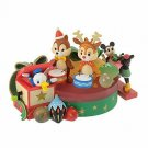 Disney LED Light Mickey & Friends CHRISTMAS SANTA'S GIFTillumination Chip & Dale
