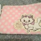 Disney Aristocats Marie Pink Pouch Accessory Case Mini Bag Tissue Pouch