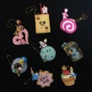 Disney Alice sweets mascot complete set rement Cheshire cat white rabbit min