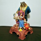 Early 2000s Disney Store Beauty and the Beast Bell Snow Globe Figure Dome