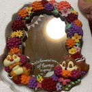 Disney Store Japan Berry Chip and Dale Stand Mirror Table mirror figure ornament