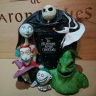 Disney Store Nightmare Before Photo Frame Photo stand Jack Sally Zero figurre