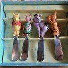 Disney's Classic Pooh Butter knife set Piglet Eyo Tigger figure cutlery Japan