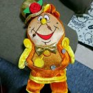 Disney Store Japan Plush Doll Cogsworth Be our guest Beauty & the Beast toy gift