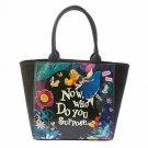 Disney Store JAPAN  Alice in WonderlandNight-made  tote bag Handbags black