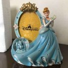Disney Princess Cinderella Snow Globe 3D Photo Frame Stand Figure