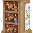 Disney Winnie the Pooh Premium Mini Rotating Cabinet Accessory Mace Box