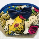 Tokyo Disney Resort Beauty and the Beast Bell Cosmetic pouch Pochette case bag