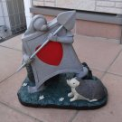 Disney Alice in Wonderland Trump Soldier Heart Solar Ornament Figure with LED