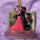 Disney Christmas Ornament Sleeping Beauty Princess Aurora & Prince Philip Figure
