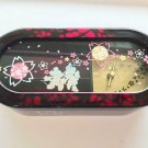 Disney Cherry Blossom Mickey & Minnie Mouse March Music Box Jewelry Case Box Woo