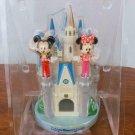 Tokyo Disney Land Cinderella Castle Pen Stand Set Stitch Mickey Minnie