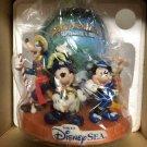 Tokyo Disney Sea Grand Opening Mickey & Goofy & Donald Figure Ornament Doll TDR