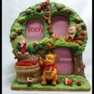 Disney Winnie The POOH Figure photo stand frame with music box Piglet Tigger