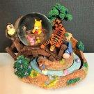 US Disney Auction Limited 500 Winnie the Pooh Snow Globe Dome Figure Ornament