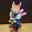 Disney Store JAPAN Zootopia Nick & Judy Hug & Smile Plush doll Figures