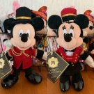 2000 Disney Sea Hotel Mira Costa Limited Mickey & Minnie Mouse Plush Badge Doll