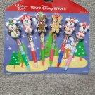 Tokyo Disney Resort 2009 Christmas Snow Snowman Mickey Minnie Mouse Ballpoint