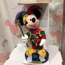 Tokyo Disney Land Carnival 15th Anniversary Mickey Mouse Plush Music Box Doll TD